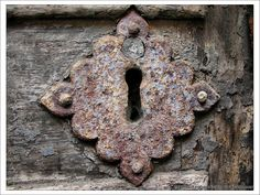 old key hole