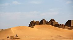 Necrópolis de Meroe (Nubia)