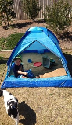Create a fun Sandpit play area for the kids and keep them safe from the sun by adding a handy Shade Sail or a Tent!