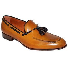 #Luxury #Christmas #TanBrown #Tassels #Loafer# #Handmade #Leather #MenWeddingShoes