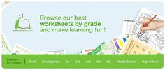 Free membership, lots of printables and ideas for activities grades Learning Time, Learning Activities, Kids Learning, Preschool Forms, Preschool At Home, Worksheets For Kids, Printable Worksheets, Printables, Educational Websites