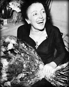 Edith Piaf and that amazing smile