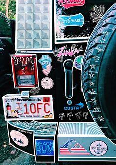 Ideas For Cars Stickers Vsco My Dream Car, Dream Life, Dream Cars, Van Life, Mundo Hippie, Jeep Cars, Jeep Jeep, Car Goals, Happy Vibes