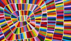 Aboriginal artwork by Raelene Stevens Aboriginal Artwork, Aboriginal Artists, Australian Art, Indigenous Art, Art Plastique, Elementary Art, Art Auction, Painting & Drawing, Encaustic Painting