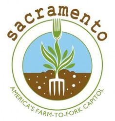 Farm to fork logo, Sacramento