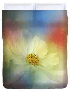 """Cosmos Dreaming Abstract by Kaye Menner Queen (88"""" x 88"""") Duvet Cover"""