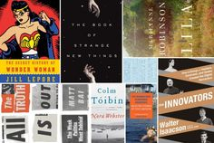 8 Books You Need to Read This October via Vulture (key titles - The Innovators by Walter Isaacson; Nora Webster by Colm Toibin; The Woman Who Borrowed Memories Selected Stories of Tove Jansson)