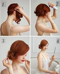 Resultado de imagen para peinados recogidos faciles
