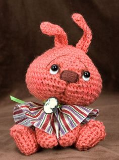 This site is full of incredible inspiration~Freckles~ a Jointed amigurumi Bunny Rabbit | Flickr - Photo Sharing!
