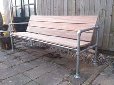 Pipe bench