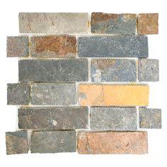 Mosaikfliese Brick XMS 546 (Braun) Bauhaus, Ikea Kitchen, Ark, Tile Floor, Hobby Ideas, Brown, House, Invitations, Projects