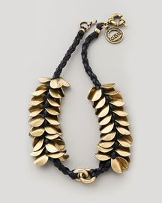 wheat choker - I don't like it as a chokers, as I don't like choker necklaces, but the design would look nice as a bracelet or a normal necklace.