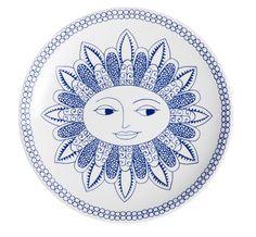 Arabia 140 year anniversary plate, Aurinko