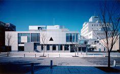 Toyama Shimin Plaza Location: Toyama, Toyama Completion Date: 1989 Building Type: Music Hall, Gallery, Studio Site Area: 6,003m² Total Floor Area: 22,702m²
