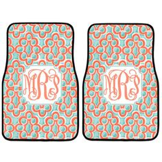 Car Accessories for Women  Car Mats  Lilly by SassySouthernGals