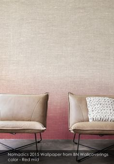Nomadics 2015 wallpaper from BN Wallcoverings in Red mid