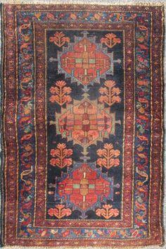 "KEIVAN WOVEN ARTS,   Type :Hamedan Origin :Iran  Size : 3'3""x5'0""  Circa :1910"