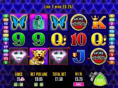 Play Aristocrat More Hearts Slot Machine Online The slot pays big money because of the heart symbols awarding reels to players during bonus rounds. http://www.vegasslotsonline.com/aristocrat/more-hearts/?ref=pinterest