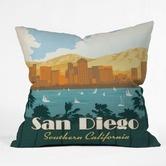 Found it at Wayfair - Anderson Design Group San Diego Throw Pillow