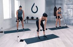 Dumbbell Workout: 5 Moves, 1 Full-Body Burn: High Pull to Lateral Lunge Exercise