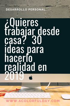 30 ideas para trabajar desde casa (guía completa).  Trabajar desde casa, generar ingresos, rediseña tu vida.  Tips, inspiración.  #trabajardesdecasa #negocioscreativos #negociosrentables #emprender #trabajosdsdecasa #acolorfulday #tips #inspiracion Content Manager, Bussines Ideas, Internet Jobs, Start Ups, Work From Home Jobs, Life Motivation, Online Jobs, New Job, Business Planning