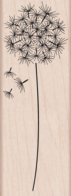 Amazon.com: Hero Arts Woodblock Stamp, Dandelion: