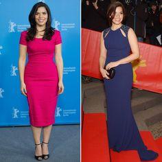 America Ferrera in Purple Dress at Cesar Chavez Premiere | POPSUGAR Fashion