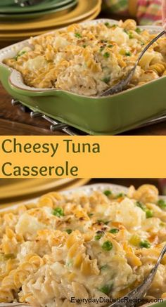 Enjoy a comforting family-favorite with our recipe for Cheesy Tuna Casserole. We even snuck in some good-for-ya veggies to make this tuna casserole healthier. Even those picky eaters will gobble it right up! easy dinner recipes for family Tuna Casserole Healthy, Dinner Casserole Recipes, Pasta Casserole, Dinner Recipes, Recipe For Tuna Casserole, Cauliflower Casserole, Cauliflower Salad, Dinner Dishes, Chicken Casserole