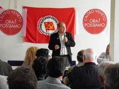 Paolo Ferrero domenica 3 Maggio a Marghera per sostenere L'Altro Veneto. Ora Possiamo!
