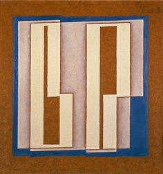 b and p. by Josef Albers, 1937 | Guggenheim Museum online collection