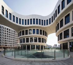 Flower Building - Picture gallery #architecture #interiordesign #curves #office