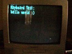 Arduino TVout Keyboard