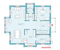 Fertighaus und Energiesparhaus - Villa 207 EG