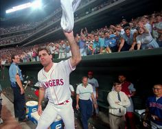 Kenny Rodgers pitches a No Hitter for the Texas Rangers