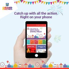 This year, the Grand Diwali Mela is bigger and better with a new set of partners. Take shopping and celebration to a whole new level, right from your phone.
