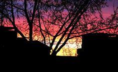 Sunset from my window. www.lorenamos.com