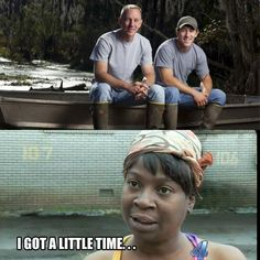 Jacob and Chase- Swamp People :) Oh yes I believe I do have a little time!