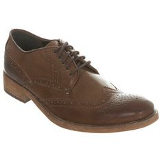 Tan Leather Brogue Shoe