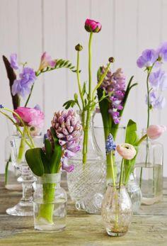 Nu blommar det! Piffa bordet med blomster | Leva & bo | Heminredning Allt för Hus & Hem | Expressen