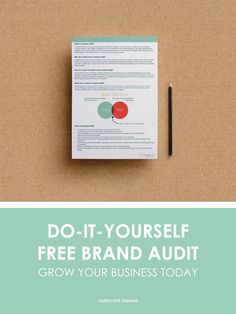 Free DIY Brand Audit for small businesses