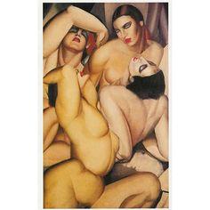 "Tamara de Lempicka ""Group of Four Nudes""   1925"