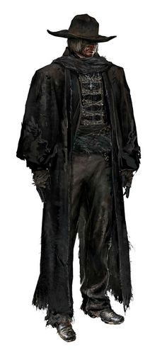 Bloodborne Cosplay -- Father Gascoigne Cosplay Costume Version 01