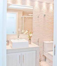 Resultado de imagem para decoração banheiros pequenos