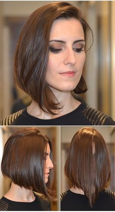 Greatest Inverted Bob Hairstyles You will Love Inverted Bob Hairstyles, Straight Hairstyles, Hairstyles 2018, Easy Hairstyles, Super Short Hair, Short Hair Cuts, Hair 2018, How To Make Hair, New Hair