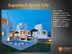Supertech Sports City Sector 10 Noida Extension Noida.