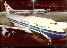 Uggggh! VARIG B-744, at GIG, credit to the author.