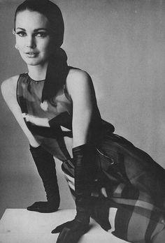 Brigitte Bauer Vogue 1957