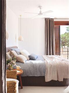 Una casa con un interior de lo más mediterráneo chicanddeco