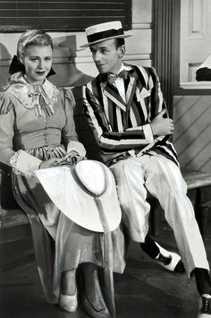 Fred Astaire and Ginger Rogers in The Story of Vernon and Irene Castle, 1939