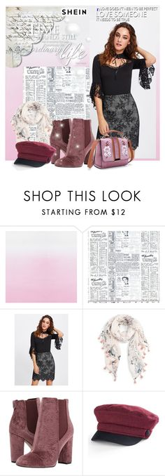 """""""Shein style"""" by sansa-starkk ❤ liked on Polyvore featuring Designers Guild, Classified, Caslon, Sam Edelman and Apt. 9"""